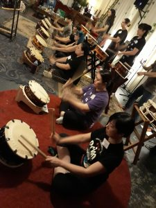 Taikokoro Inc shime taiko workshop