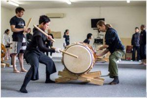Taikokoro Inc - Miyake taiko workshop