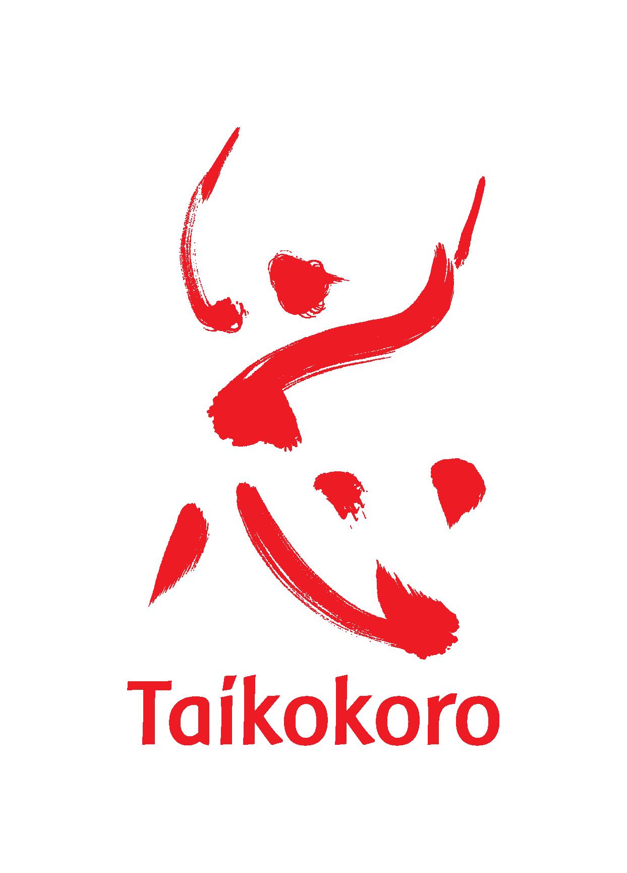 Taikokoro Inc logo - red