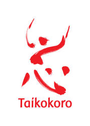 Taikokoro Inc logo - red